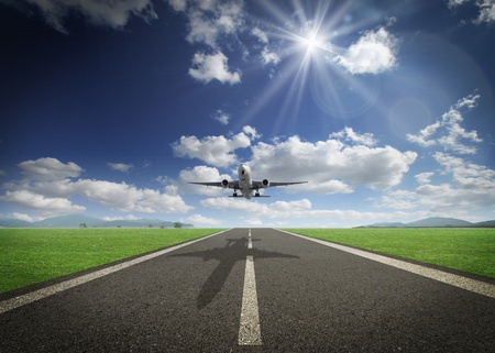 take off: Airplane