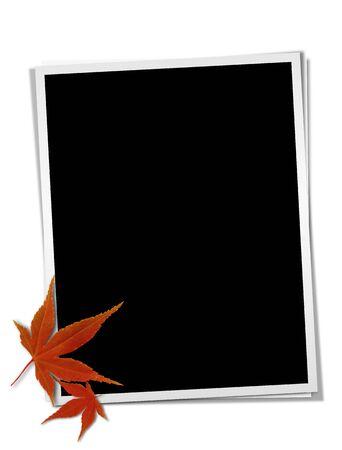 Photograph frame image Stock Photo