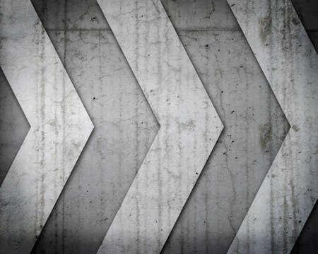 cautions: Concrete background