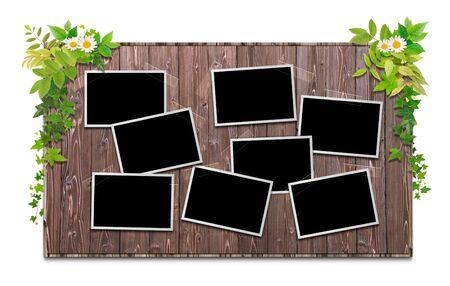 bulletinboard: Blackboard Stock Photo