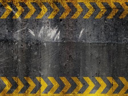 Warning image background