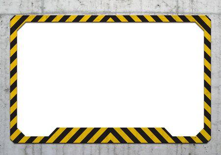 Warning frame