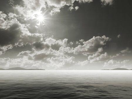 Sea view color Stock Photo - 18959780