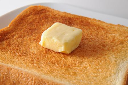 Butter toast Archivio Fotografico - 108156269
