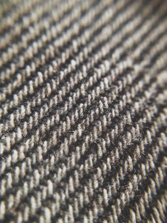 fabric: close up of jeans texture Stock Photo