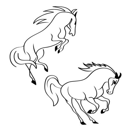 horse standing on three paws Icon Vector, horse standing on three paws Icon  , horse standing on three paws Icon
