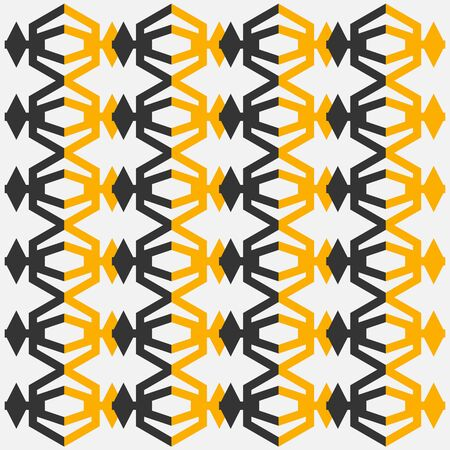 Geometric Ethnic pattern design for background or wallpaper. Vector illustration Illustration