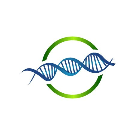 Helix human technology research molecule and chromosome medical and pharmaceutical vector symbols