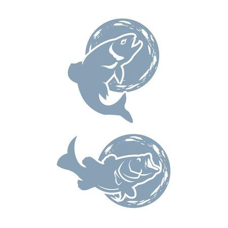 Design elements for logo, label, emblem, sign, brand mark.