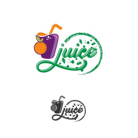 fruits vegetables fresh smoothies. Vegan eco bio green healthy food. Hand drawn vector illustration. Illusztráció