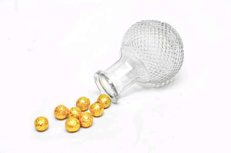 gold: gold from the glass