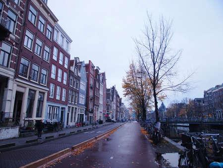 quite: Amsterdam quite road side