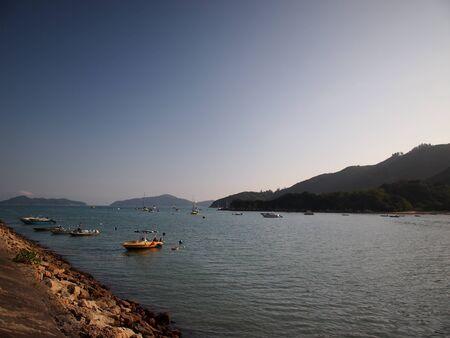 muelle junto al mar Foto de archivo