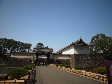 Side entrance of Japan Imperial Palace