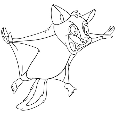 planing: crazy flying squirrel is planing