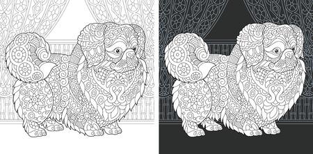 Coloring Page. Coloring Book. Ilustração