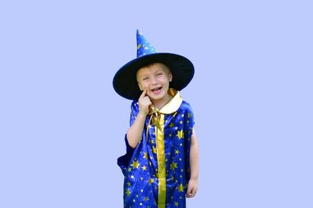 astrologer: boy in astrologer costume