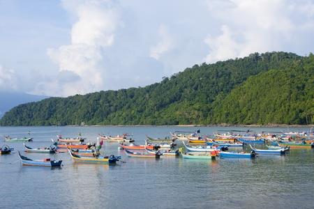 fishing boats parking near beach Stock Photo - 10000728