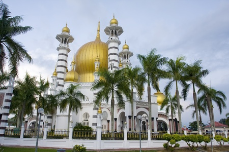 ubudiah mosque located in silver, malaysia Stock Photo - 10008532