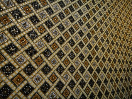 malaysia batik background in narrow view                                photo