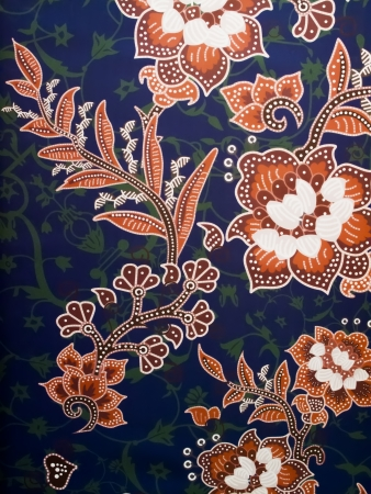 batik: an asian batik abstract detail