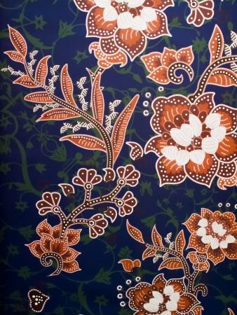 malaysia culture: an asian batik abstract detail