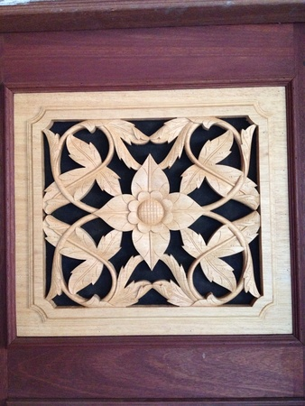 surface: Fine art wood engrave