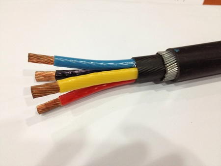 three phase: Swa three phase electric cable