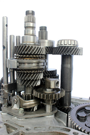 inner auto gearbox on isolated