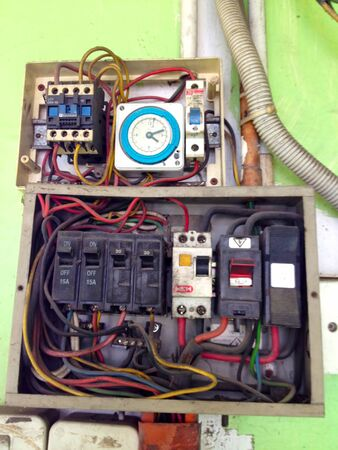 wire: Electrical distribution board poorly maintained