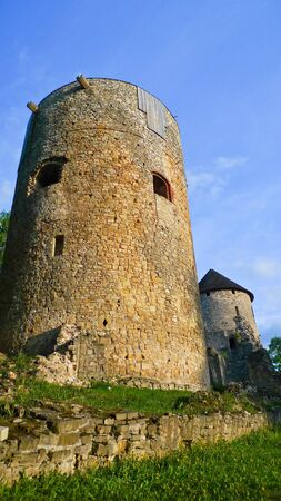 Old Livonian castle in Cesis, Latvia