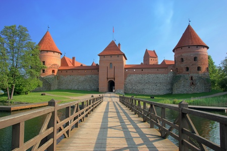 Trakai Island Castle is an island castle located in Trakai, Lithuania