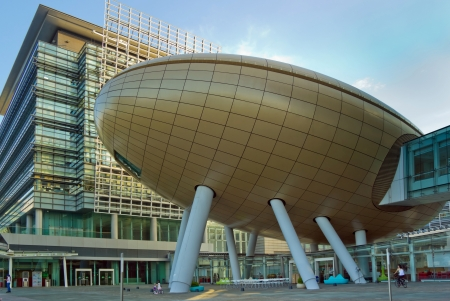 city park skyline: Modern Architecture in The Hong Kong Science and Technology Parks