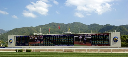 mount price: HONG KONG - March 18  Mercedes-Benz Hong Kong Derby 2012 is held in Shatin racecourse on March 18, 2012, Hong Kong, China  It is one of the most prestigious races on the domestic racing calendar