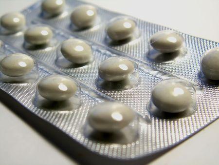 antacid: Medicine tablets Stock Photo