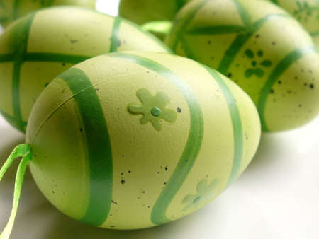 green easter eggs