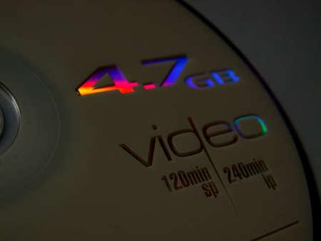 dvd rom: DVD ROM video Stock Photo