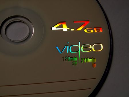 dvdr: DVD ROM Stock Photo