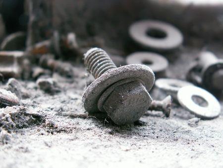 old screw photo