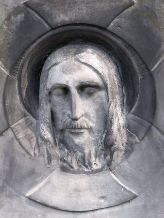 inri: Jesusu in a cemetery