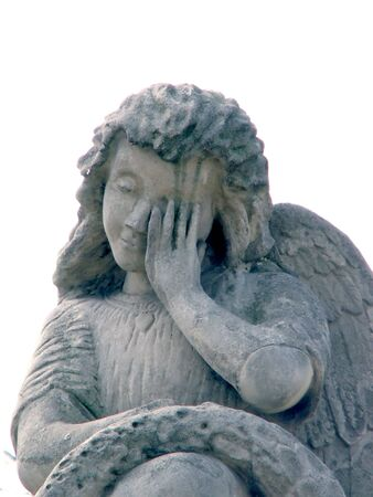 Stone angel photo