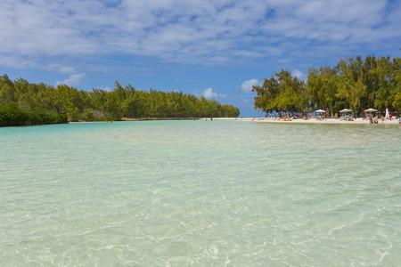 aux: Ile aux Cerfs - Mauritius island