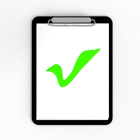 feed back: Clipboard with checkmark