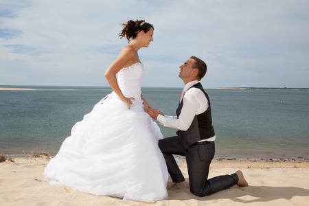 demande en mariage Banque d'images - 33523535