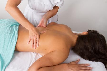 tuina: back massage