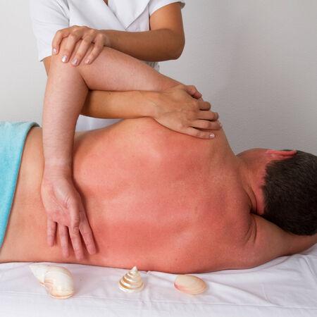 tuina: chinese massage Stock Photo