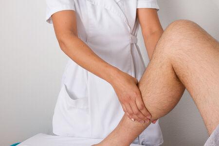 tuina: calf massage