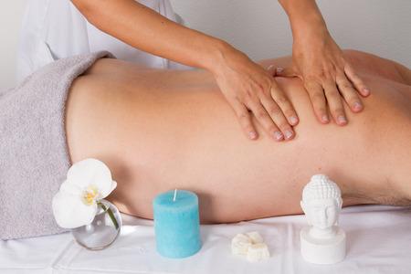tuina: zen massage Stock Photo