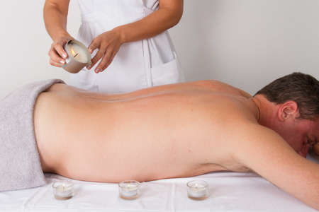 massage by candlelight photo