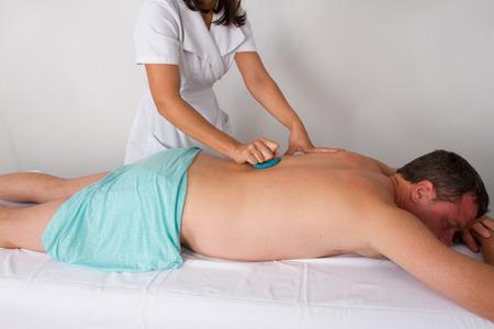 tuina: oriental massage Stock Photo